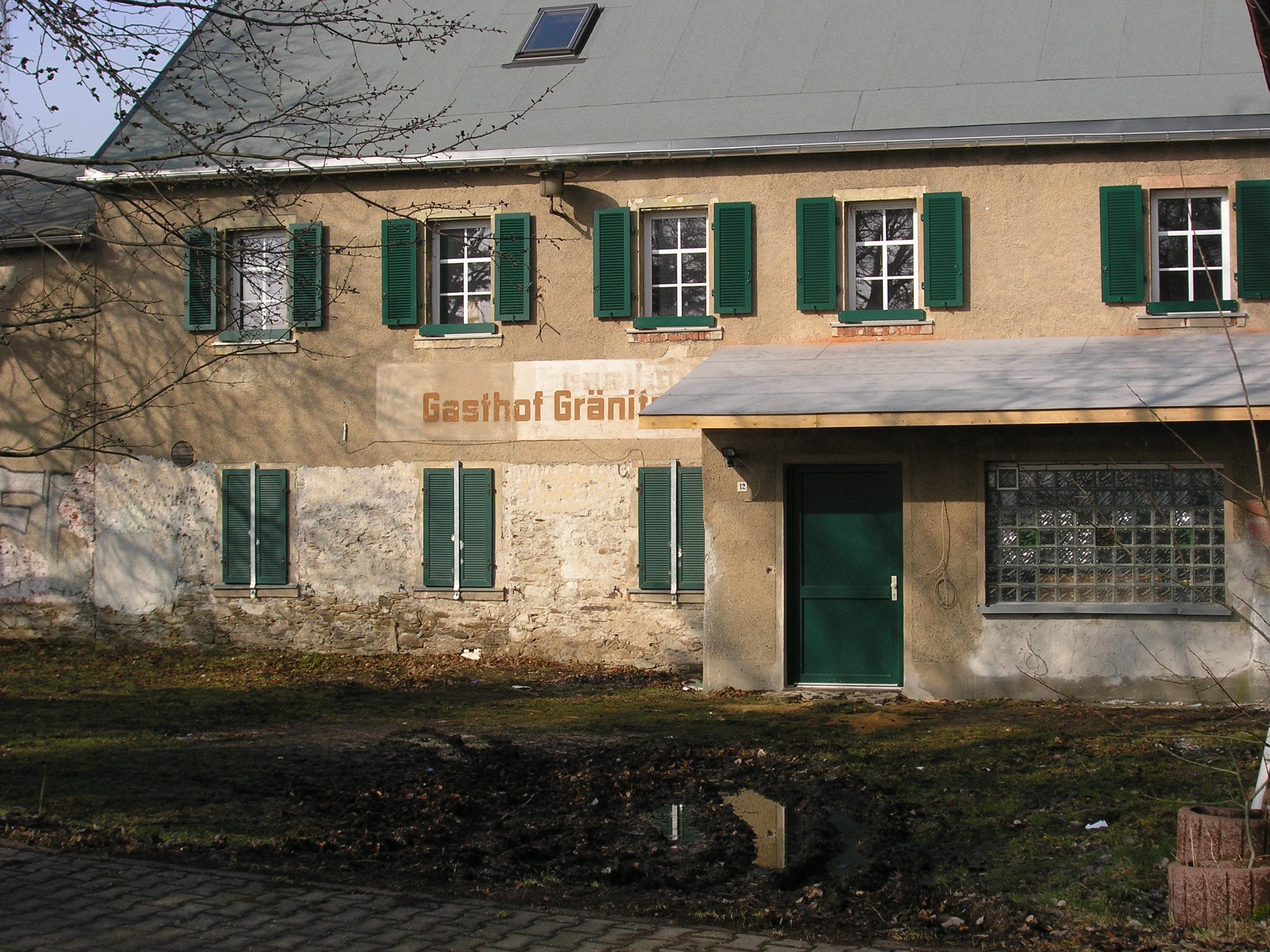 Das deutsche Haus Infoblog über das Nazizentrum in Gränitz